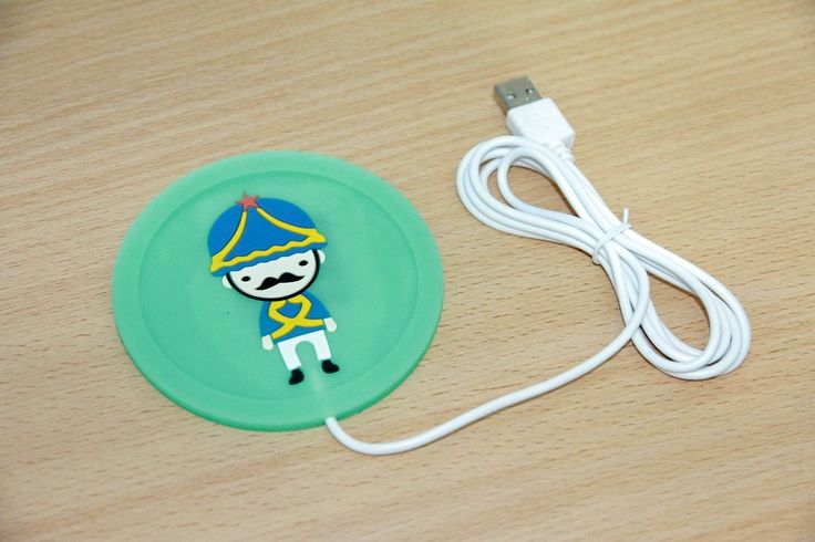 USB Cup Warmer Green Rp 55.000