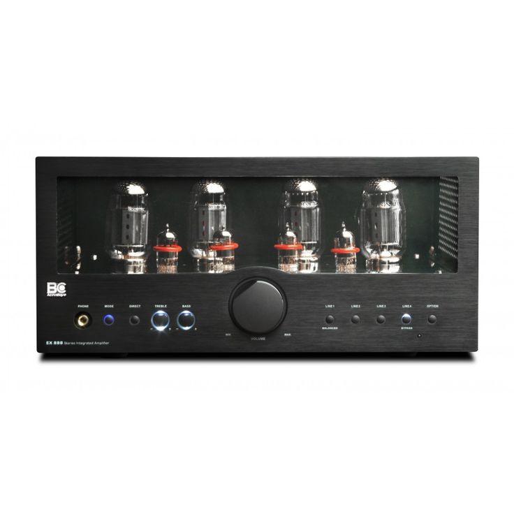 Le BC Acoustique EX-888.1 est un amplificateur Hifi à tubes de 2 x 40 W. Il propose des composants haut de gamme et un rendu musical d'exception.