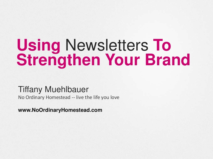 newsletter marketing keynote by Tiffany Muehlbauer @ The Hive 2013 in Berlin