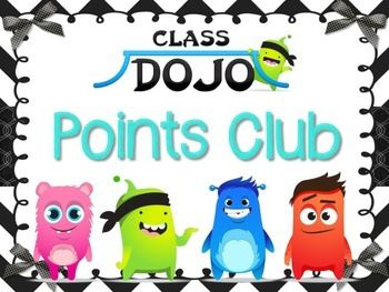I've been using Class DOJO as my behavior management system for three years now, and I love it!  The parents have always given me positive feedback about it too!  This poster can be used to create a classroom Points Club using the free avatar downloads from the Class DOJO site.