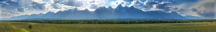The Grand Tetons Grand Teton National Park Wyoming USA [OC][6102x928]