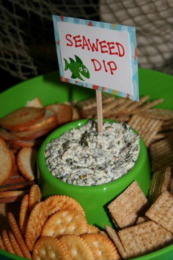 Seaweed dip (Spinach dip)---Image Only