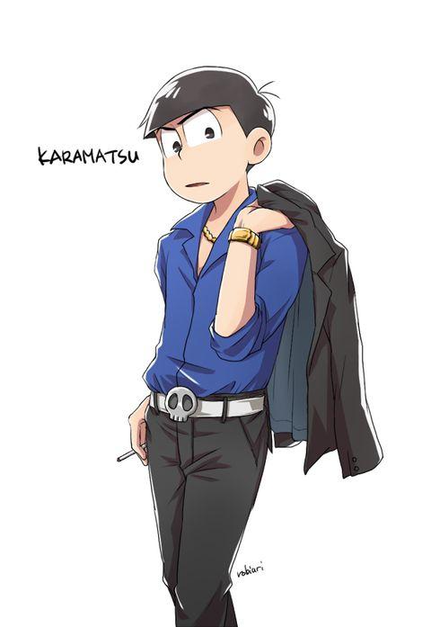 Osomatsu-san- Karamatsu #Anime「♡」Mafia AU