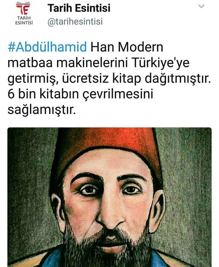 #AbdülhamidHan ve Matbaa... #OsmanlıDevleti