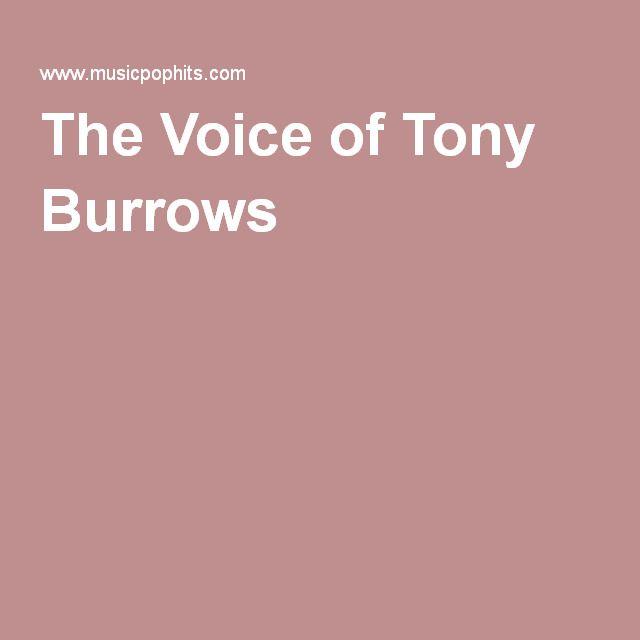 The Voice of Tony Burrows