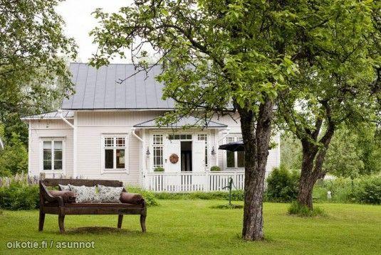 Myynnissä - Omakotitalo, Linkulla, Inkoo: 4h+k - Timmermalmintie 65, 10360 Inkoo - Huom!   Suomen  #puutarha #oikotieasunnot