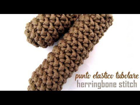 Scuola di Uncinetto: punto elastico tubolare o Herringbone Stitch - Alessia, scrap & craft...Alessia, scrap & craft…