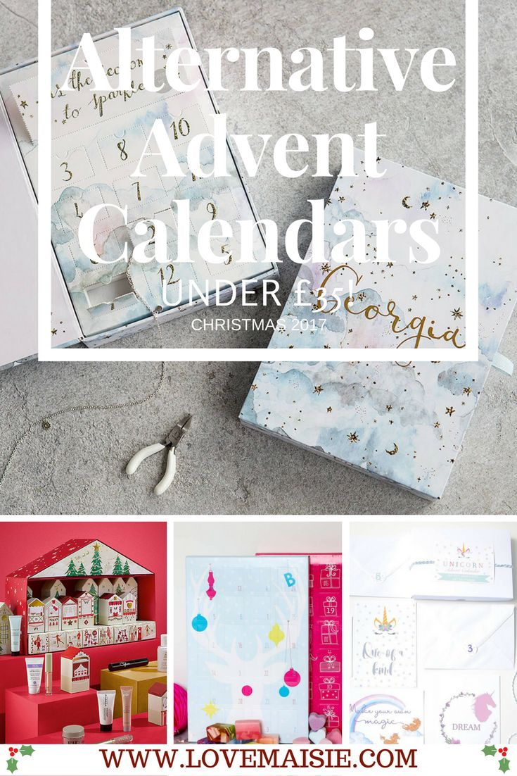 5 of The Best Alternative Advent Calendars 2017 | Beauty advent calendars | Jewellery advent calendars | Stationary advent calendars | Love, Maisie | www.lovemaisie.com