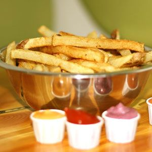 French Fries.... my favorite cheat food! Boise Fry Co. (a must stop on my next cross country road trip!)