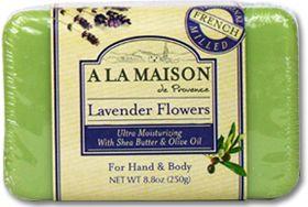 A LA MAISON Soap - Lavender Flowers