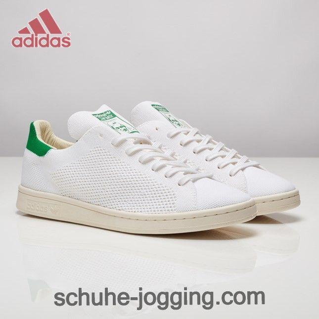 official photos 0a3e4 0eabd Adidas Stan Smith OG Primeknit Schuhe Kern Weiß Kreide Weiß Fairway. http
