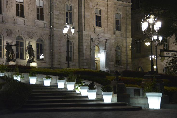 Potage lumineux à l'assemble Nationale du Québec