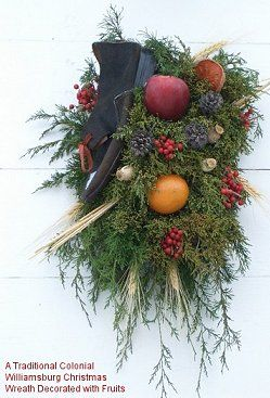 Creative Ideas For Celebrating Christmas On A Colonial Williamsburg Theme Includes Decorating And Food Gifts Activities Etc