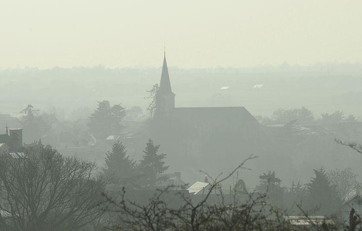 Murs-Erigné (5 minutes d'Angers), tôt le matin - Photo YLB