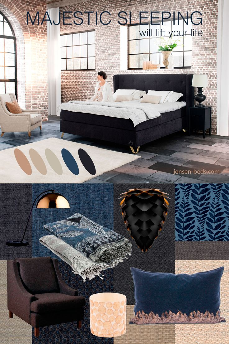 We are exited to launch our new Majestic Collection of beds. Take a look at our beautiful selection of high quality beds at http://jensen-beds.com/ Photo: http://www.wrongforhay.com/ https://www.designersguild.com/ https://www.bohus.no http://www.lama.com/ http://www.halvorbakke.no/ http://lady.inspirasjonsblogg.jotun.no/ http://www.vitacopenhagen.com/