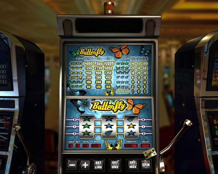 Butterfly! Classic 3 reel slot! For more games register on http://casino-goldenglory.com/