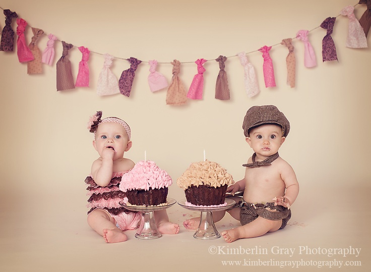 121 best Twins 1st birthday images on Pinterest July 4th July