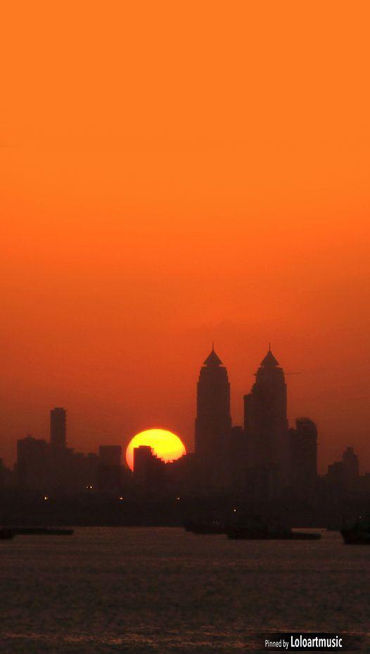 Mumbai Sunset, Mumbai, India
