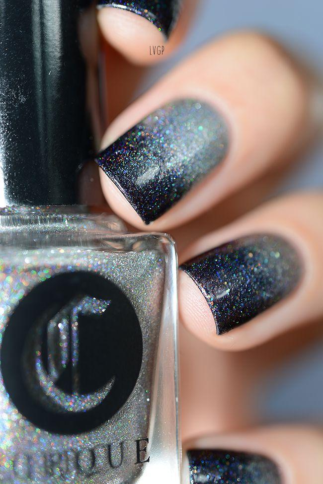 Nail Art | VGP – Portfolio Sani - Cirque Rainbow in Space - Lilypad Lacquer Party Favorite - NCLA