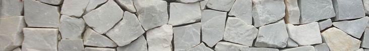 Pedra Portuguesa Branca para revestimento interno e externo, lareiras, churrasqueiras, muros e fachadas. Disponível em outras cores.