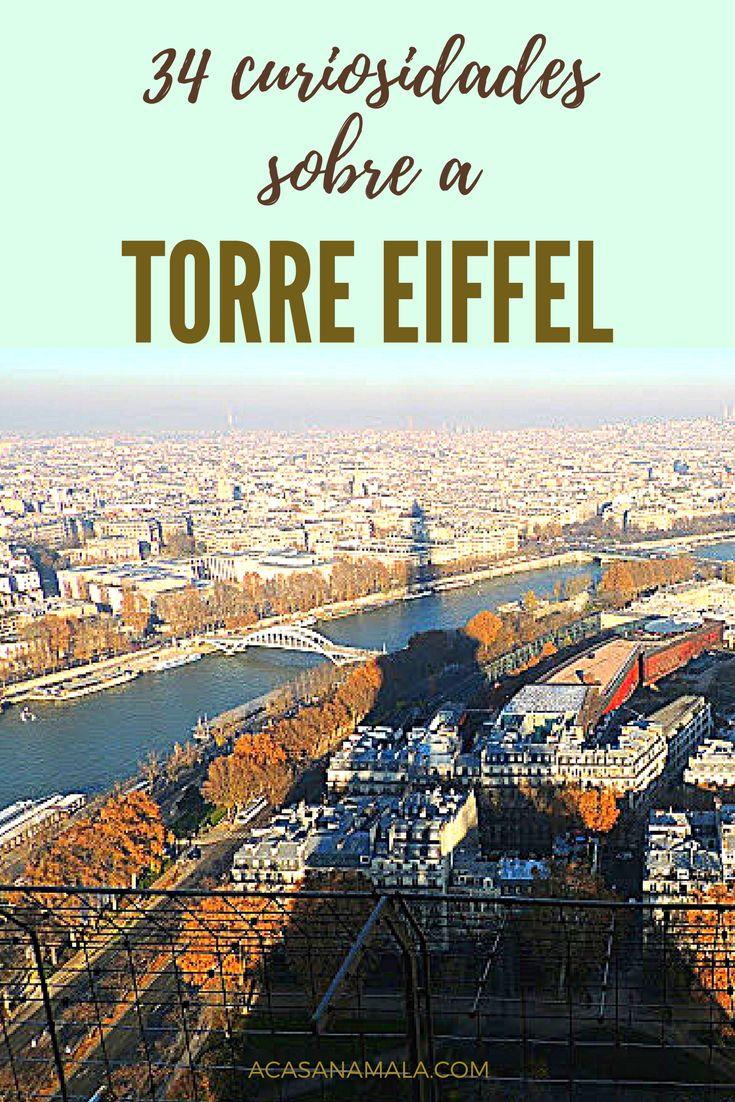 Algumas curiosidades sobre a Torre Eiffel, o principal monumento de Paris, desde a sua cnstrução até os dias atuais.