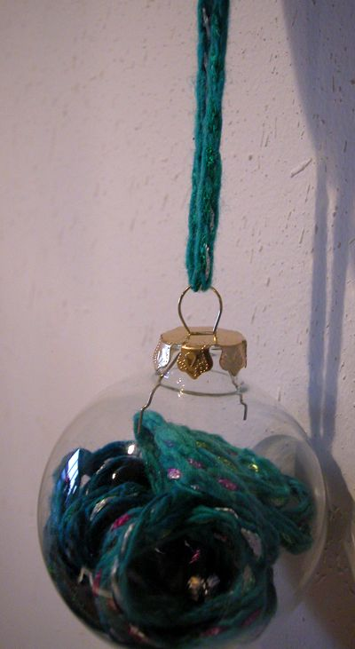 glass ornament craft ideas 17 best images about yarn fabric on 4570