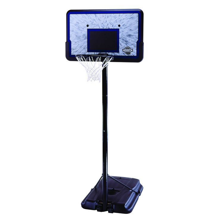 "Buy Lifetime 44"" Portable Adjustable Height Basketball System, 1221 at Walmart.com - Free Shipping"