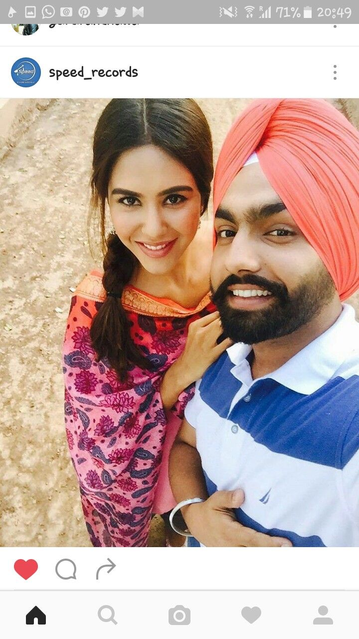 Jatt  On set of nikka zaildar