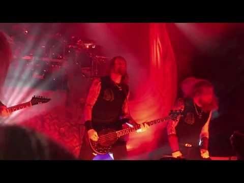 Amon Amarth - Intro + The Pursuit of Vikings (Live in Bologna at the Estragon, 2017)