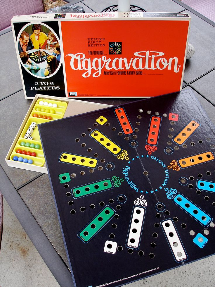Aggravation - we played constantly!!!! Especially one winter stuck in a blizzard