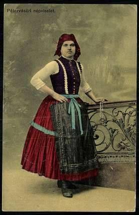 Pétervásári népviselet - Hungary