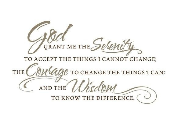 vinyl wall decal the serenity prayer christian living room decor wall decor vinyl lettering decal wall quote sticker