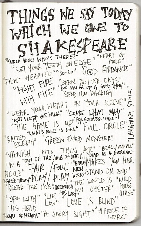 Things we say thanks to Bill: Thoughts, Reading, Idea, Inspiration, Williams Shakespeare, Things, Shakespeare Quotes, Who Knew, Owe