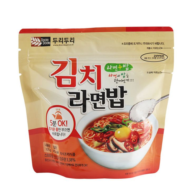 Korean Food Kimchi Noodle&Rice Ramenbap Asian Food MRE Hot Water Need Only | Sporting Goods, Outdoor Sports, Camping & Hiking | eBay!