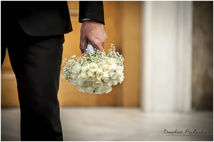 Nikos' wedding preparation