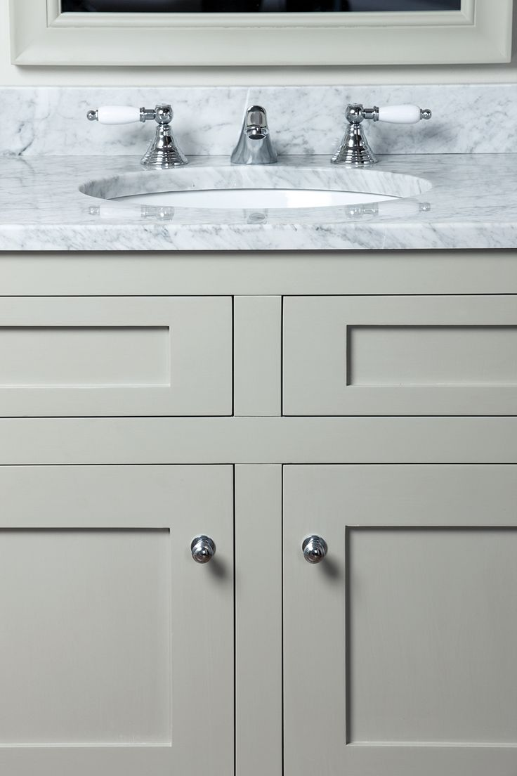 American classics bathroom vanities - Shaker Style Bathroom Vanity Unit Uk Abbey 36 In Bath Vanity Carrara White