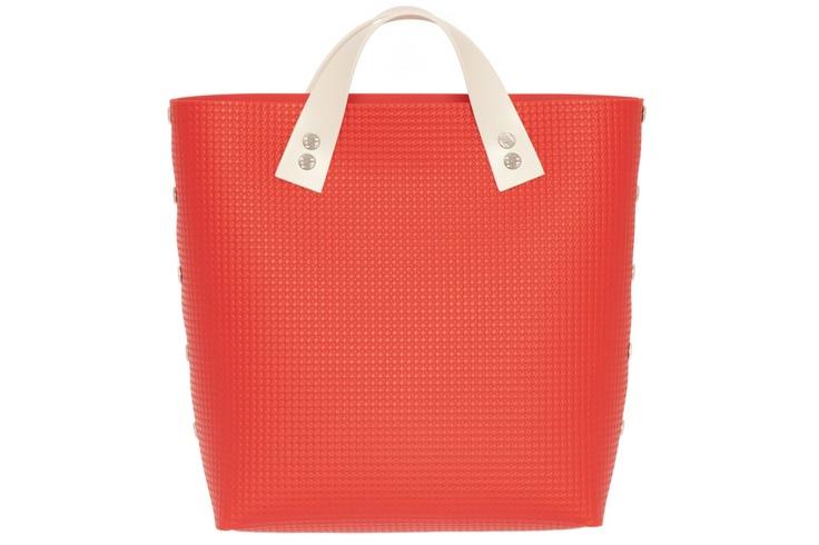 Dampaì - Bernarda Handbag TWO SHORT Red