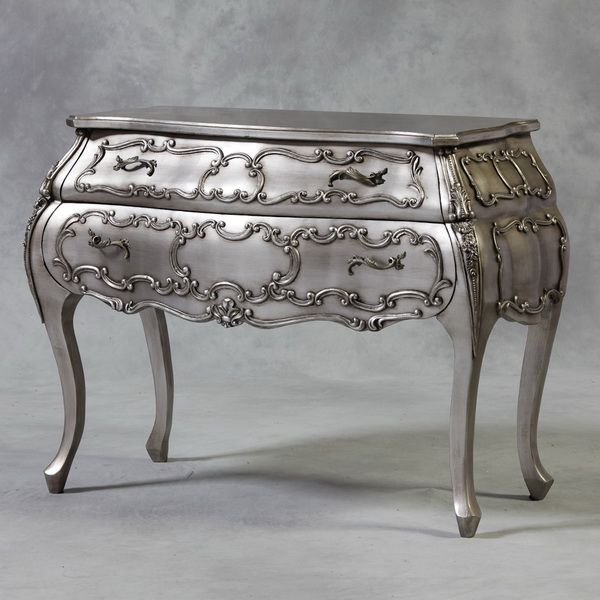 antique black and silver furniture   Shabby Chic Silver Leaf 2 Drawers  Bombay Chest. Best 25  Bombay chest ideas on Pinterest