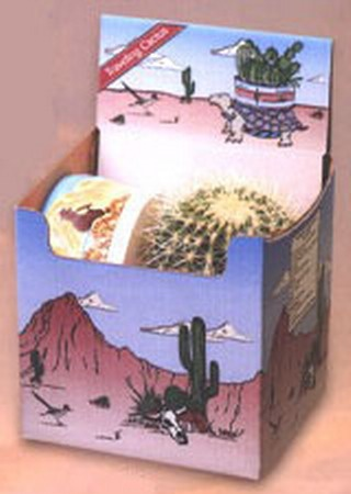 Golden Barrel Planting Kit - This planting kit contains 1 Golden Barrel Cactus with a ceramic planting bowl. Now you can own a piece of the American Southwest! Desert Canyon Gifts presents a selection of Cactus Growing Kits. Most cactus planting kits come complete with cacti, the right type of soil, decorative pebbles, planter, and a unique Arizona sign. $34.95