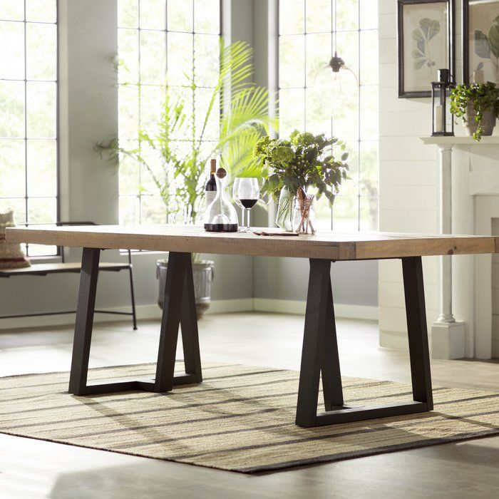Stephen Dining Table Reviews Allmodern Dining Table In Kitchen Wood Dining Table Solid Wood Dining Table