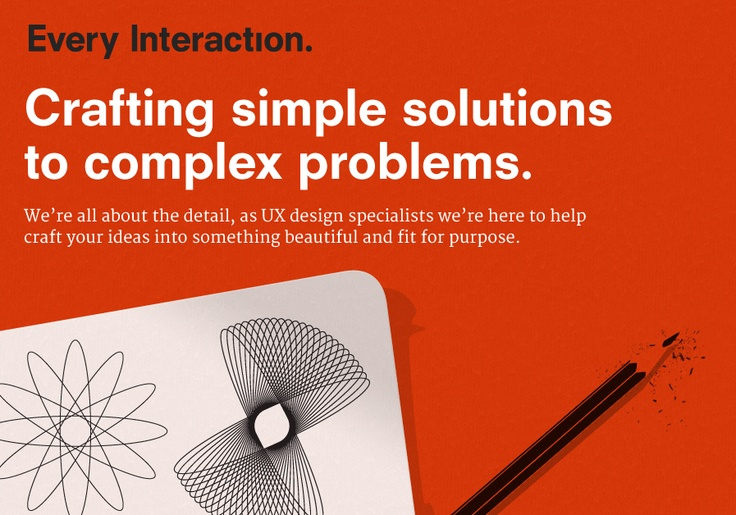 Our own one-page, responsive portfolio site.   http://www.everyinteraction.com