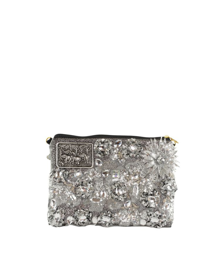 MIAMI MINI/ DIAMOND  The Louis Asscher clutch is the smallest model in the Louis Asscher collection. The Louis Asscher clutch is ideal as an evening bag or for ladies that prefer smaller handbags. Although it's a clutch you will find that it still offers enough space for you to store your essential belongings. This Louis Asscher clutch comes with a detachable shoulder chain. Remember each and every handbag is handmade and unique - no two Louis Asscher handbagsarethe same - the bag that is…