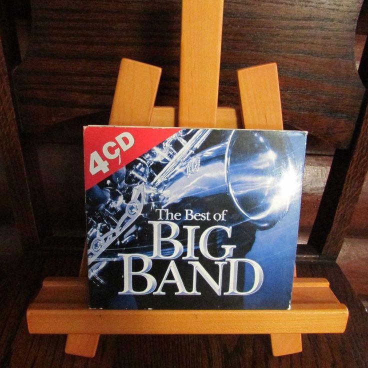 The Best of Big Band 4 CD Set Glenn Miller Benny Goodman Tommy Dorsey Les Brown