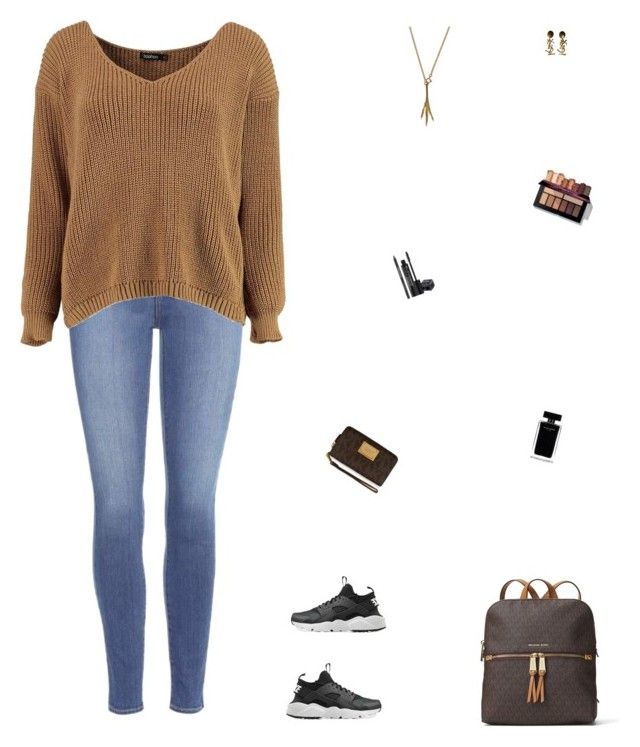 """""""👨🏽👨🏽👨🏽"""" by celmad on Polyvore featuring Paige Denim, Boohoo, NIKE, MICHAEL Michael Kors, Yves Saint Laurent, Rodial and Narciso Rodriguez"""