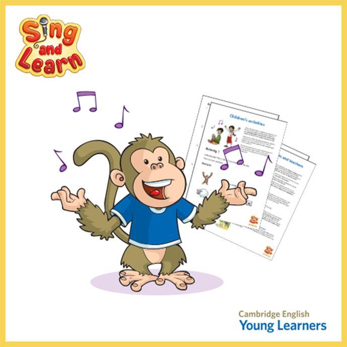 Για πολλά μικρά παιδιά το τραγούδι είναι ένας πολύ πιο διασκεδαστικός τρόπος για να μάθουν αγγλικά σε σχέση με τα βιβλία. Για το λόγο αυτό το Cambridge English ανέπτυξε μία σειρά βίντεο σε στυλ karaoke για να βοηθήσει τα παιδιά να προετοιμαστούν εύκολα και γρήγορα για τις εξετάσεις Αγγλικών.