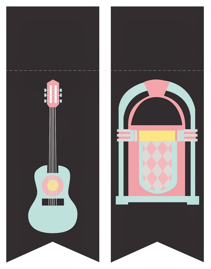 The 50´s: Free Printable Mini Kit.