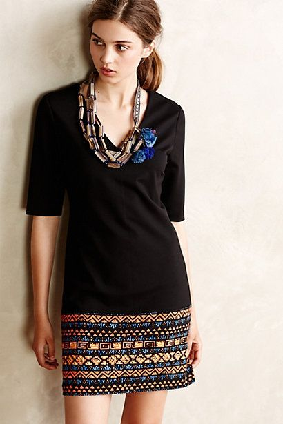 borderline shift dress #anthrofave