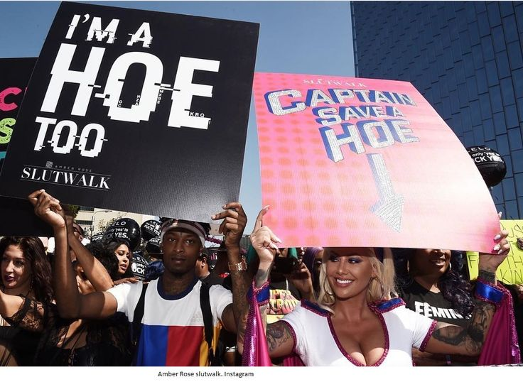 American model and actress, Amber Rose is hosting the third annual SlutWalk in downtown Los Angeles to drum support for sluts and spea...