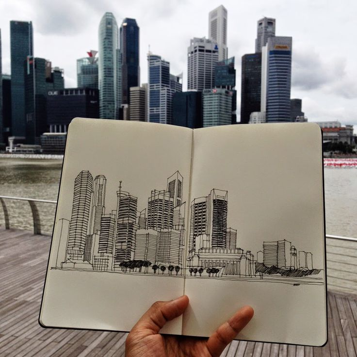 I would really like to travel and just draw. Fill a sketchbook with images. If I only had time when we travel to do this
