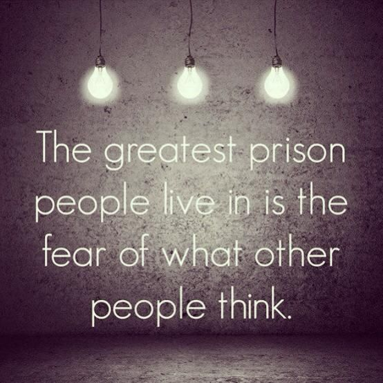 """""""Until we care more about what God thinks than what other people think we are never truly free"""" -Christine Caine"""